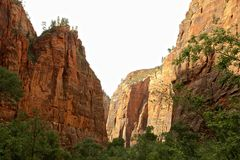 Zion National Park Rock formation Utah Stock Photography