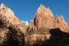 Zion National Park Scenic Landscape Stock Photography