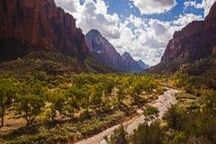 Zion National Park 2670 Stock Photo