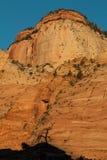 Zion National Park Sunrise Landscape Lizenzfreies Stockbild