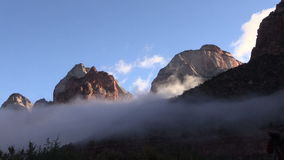 Zion National Park at Sunrise stock footage