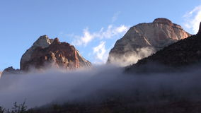 Zion National Park Sunrise stock video footage