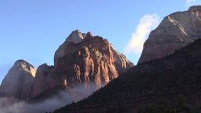 Zion National Park Sunrise stock video