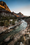 Zion National Park Sunset Stock Images