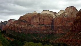 Zion National Park - Time Lapse -  4K. Zion National Park - Time Lapse stock footage