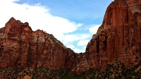 Zion National Park - Time Lapse -  4K. Zion National Park - Time Lapse stock video