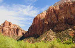 Zion national park, USA Royalty Free Stock Photo