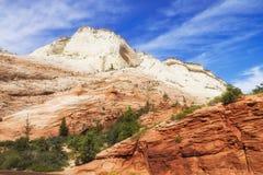 Zion National Park, USA. Royalty Free Stock Photo