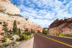 Zion National Park, USA. Royalty Free Stock Image
