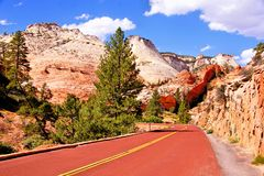 Zion National Park, USA Royalty Free Stock Images