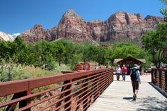 Zion National Park, USA Stock Photos