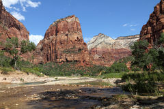 Zion National Park, Utah Royalty Free Stock Image
