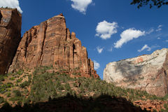 Zion National Park, Utah Lizenzfreie Stockfotos