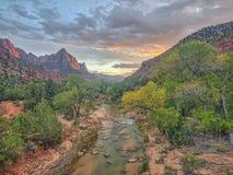 Zion National Park, Utah stock photography