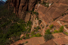 Zion National Park in Utah Stock Photos