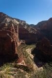 Zion National Park in Utah Royalty Free Stock Photo
