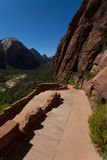 Zion National Park in Utah Royalty Free Stock Images