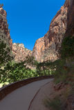 Zion National Park in Utah Royalty Free Stock Photography