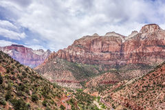 Zion National Park Utah Royalty Free Stock Image