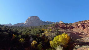 Zion National Park Utah stock footage