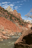 Zion National Park, Utah Landscape Royalty Free Stock Image
