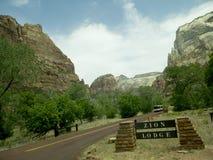 Zion National Park In Utah los E.E.U.U. Imagen de archivo libre de regalías
