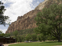 Zion National Park In Utah los E.E.U.U. Foto de archivo