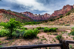 Zion National Park, Utah. Royalty Free Stock Images