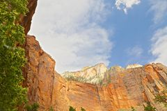 Zion National Park Utah Mountains Stock Images