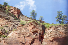 Zion National Park, Utah Royalty Free Stock Images