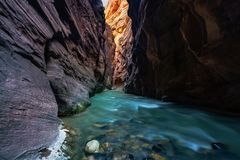The Narrows – the Most Striking Feature in Zion, ...