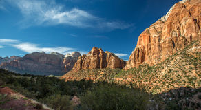 Zion National Park. Utah United States stock photos