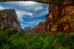 ZION national park, Utah, USA Stock Photography