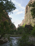 Zion National Park In Utah USA Stock Photography