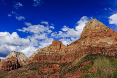 Zion National Park in Utah, USA. Stock Photo