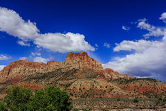 Zion National Park in Utah, USA. Royalty Free Stock Photos
