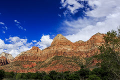 Zion National Park in Utah, USA. Stock Image