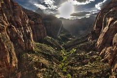 Zion national Park Utah USA Stock Image