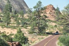 Zion National Park in Utah Stock Photo