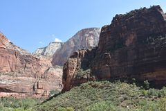 Zion National Park in Utah Royalty Free Stock Photos