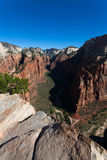 Zion National Park in Utah v Stock Image