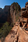 Zion National Park in Utah v Royalty Free Stock Photography