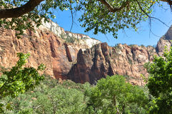 The Zion National Park, Utah Royalty Free Stock Photos