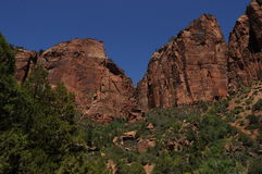 Zion National Park 4 Royalty Free Stock Photo