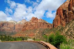 Zion National Park VIII Stock Photos