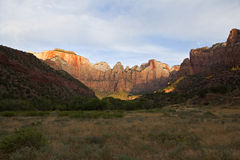 Zion Nationalpark Stockfotos