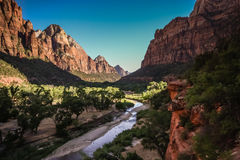 Zion nationalpark Royaltyfri Bild