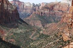 Zion nationalpark Royaltyfri Foto