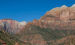 Zion nationalpark Royaltyfri Bild