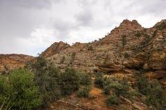Zion Nationalpark am Sonnenuntergang Lizenzfreie Stockbilder